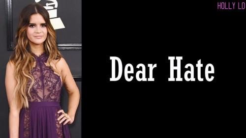 Dear Hate – Maren Morris, Vince Gill