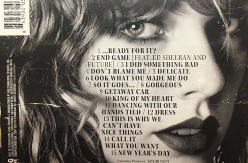 End Game - Taylor Swift